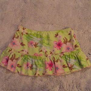 Limited TOO  girls swim skirt size 10